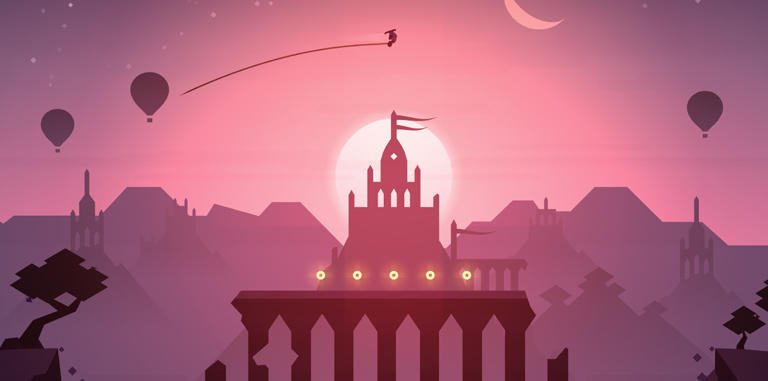 Mobile Game (Alto's Odyssey) (Designed/Developed In Unity 3D Game Engine)